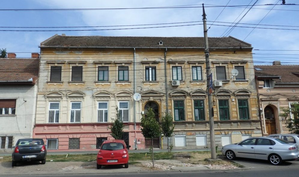 A random apartment building we passed when we were visiting Timisoara. Timisoara photo essay