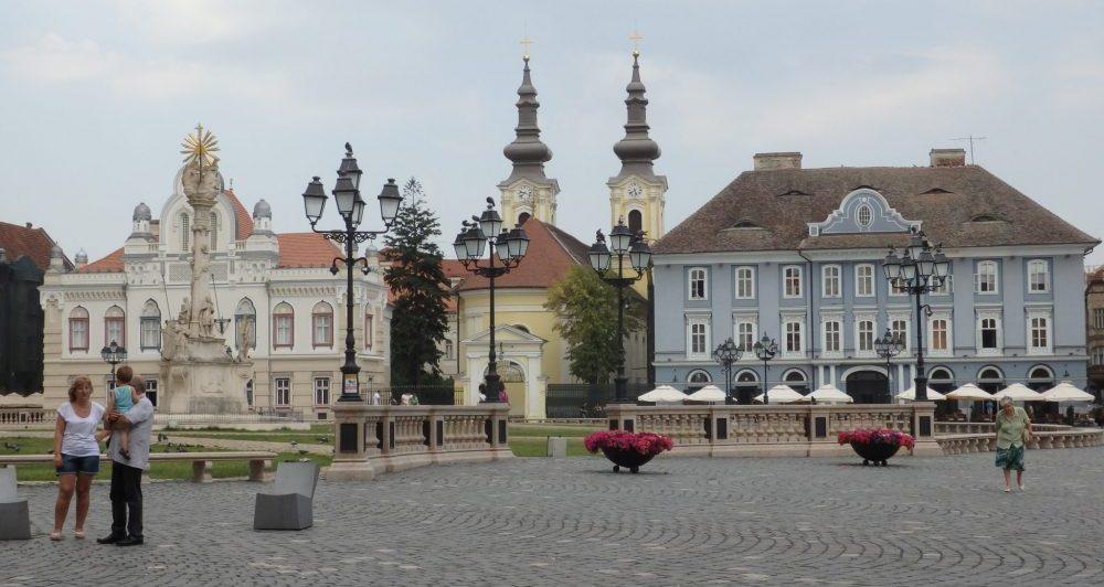 Unirii Square. Timisoara photo essay.
