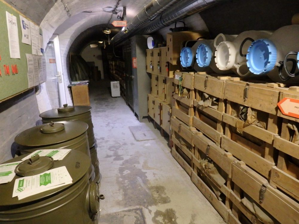 Food and water to feed 500 people for 3 days was stored in the bunker: Macabre sightseeing in Brno