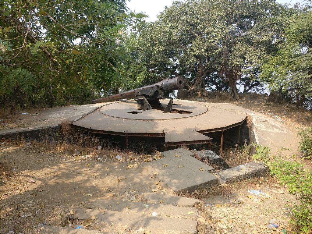 The gun on Gun Hill