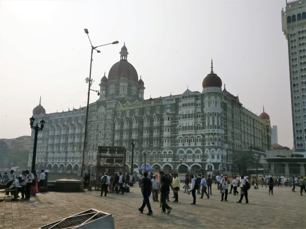 The Taj Hotel in Mumbai