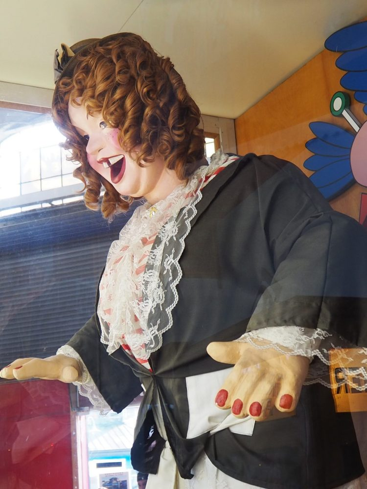 Laffin' Sal at the Musee Mecanique
