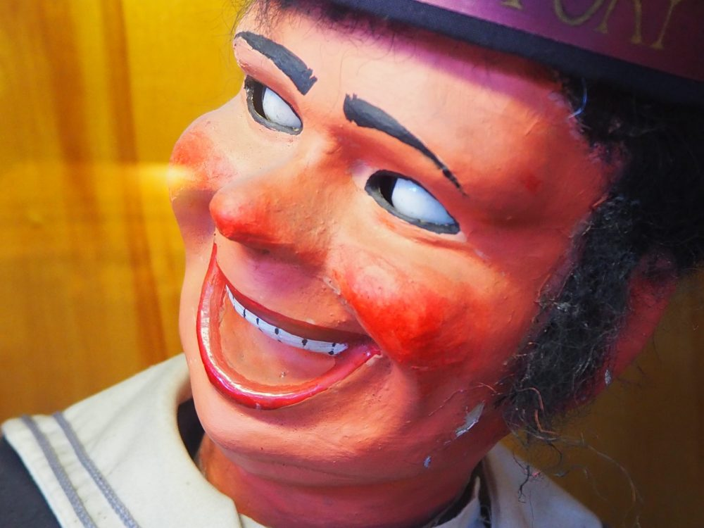 Jolly Jack figure at the Musee Mecanique penny arcade
