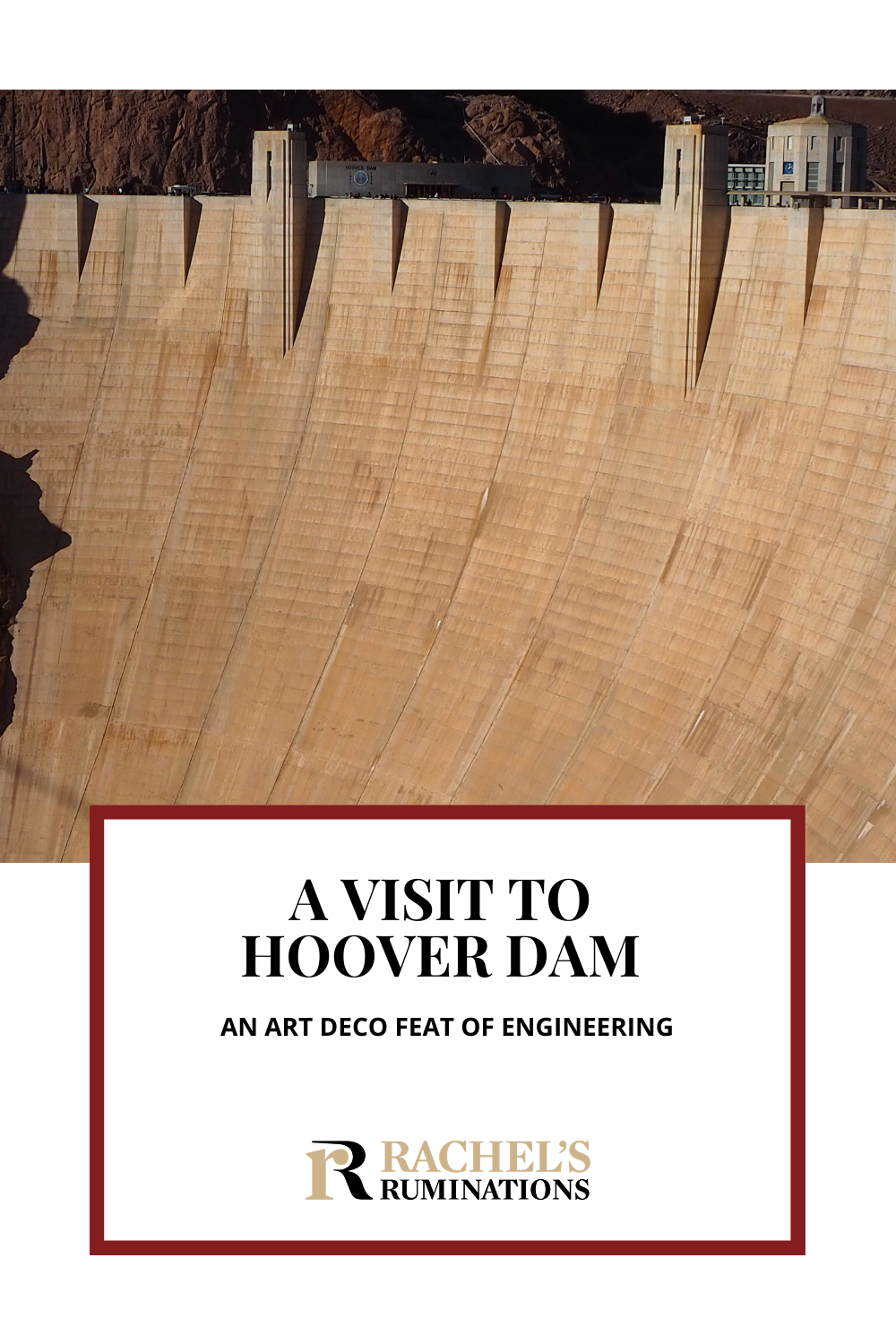 """""""My name is Arcelia and I'll be your dam tour guide."""" This was our introduction to visiting Hoover Dam, a masterpiece of Art Deco industrial design. Read about the Hoover Dam tour here! via @rachelsruminations"""