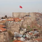 More battlements, as seen from Ankara Castle