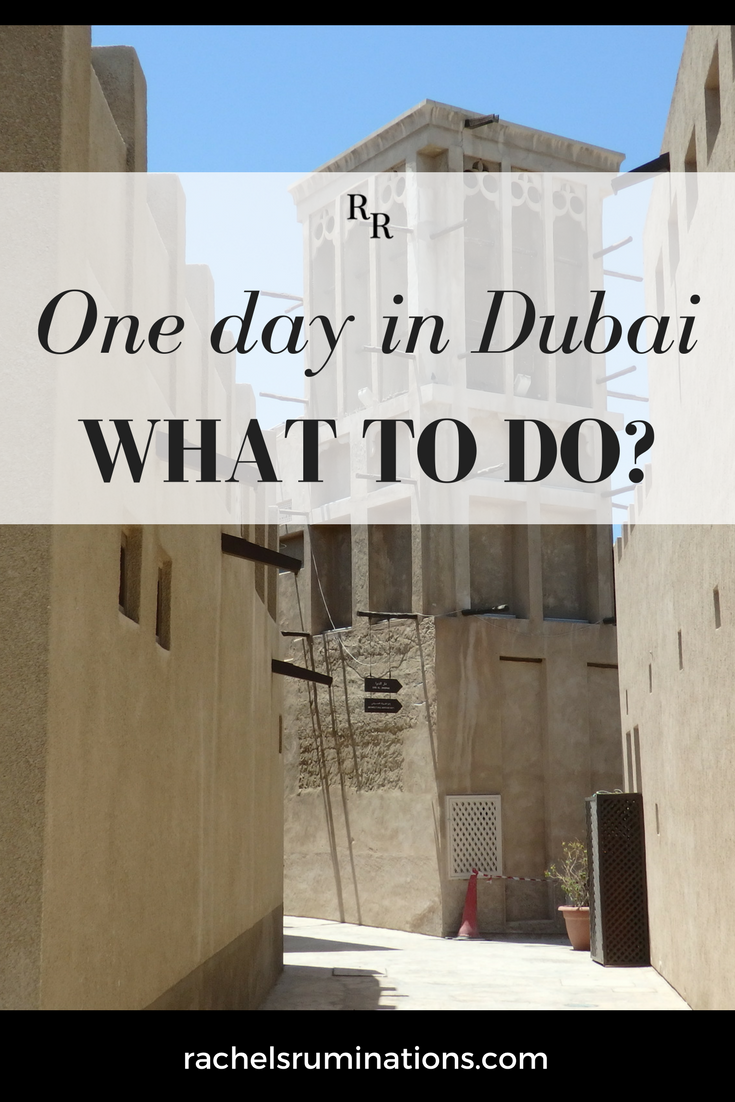 If you only have one day in Dubai, it can be tough to choose which things to see. To help you choose, here are some highlights of Dubai. #dubai #visitdubai #uae #c2cgroup via @rachelsruminations