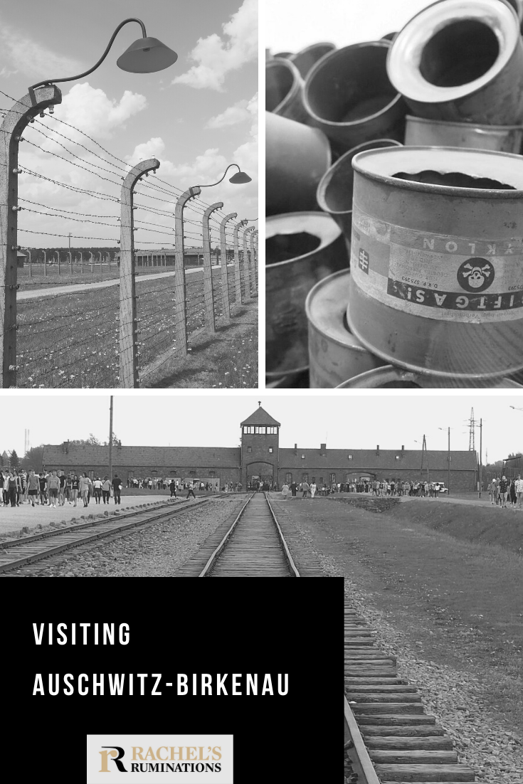 Ruminations on a tour of Auschwitz concentration camp in Poland, where Nazis turned genocide into an industrial enterprise, efficiently turning over a million souls to ashes. #auschwitz #birkenau #neverforget #poland #holocaust #shoah #rachelsruminations via @rachelsruminations