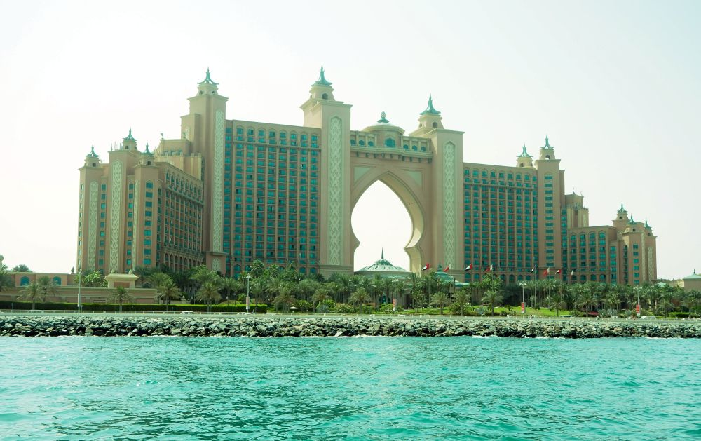 I took this picture when I took the Yellow Boat tour of Dubai.