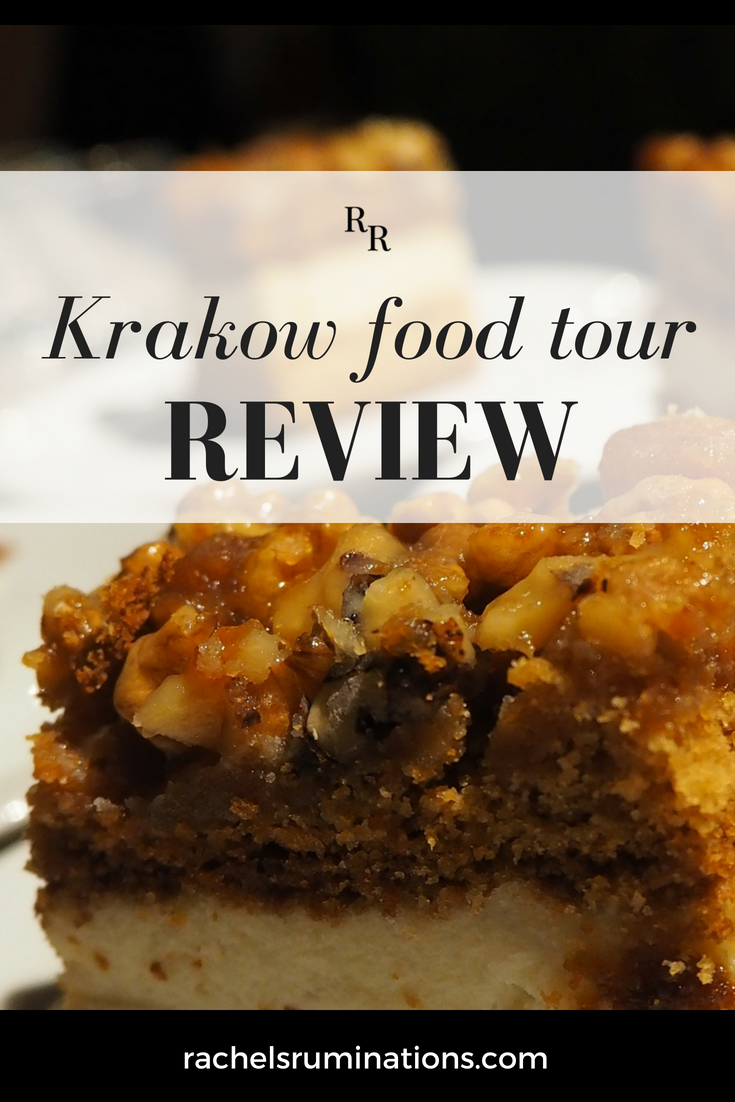 pinnable image: Krakow food tour