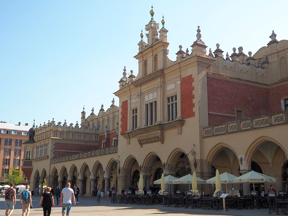 The Cloth Hall on Krakow Main Square
