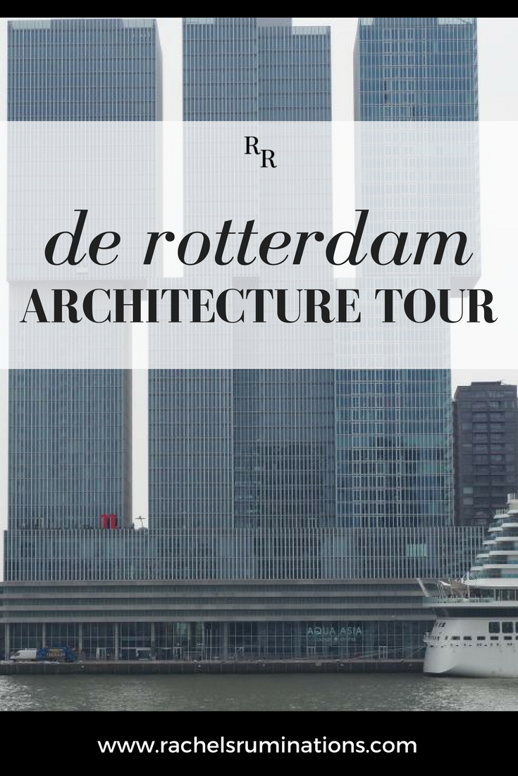 Rotterdam Architecture Tour pin