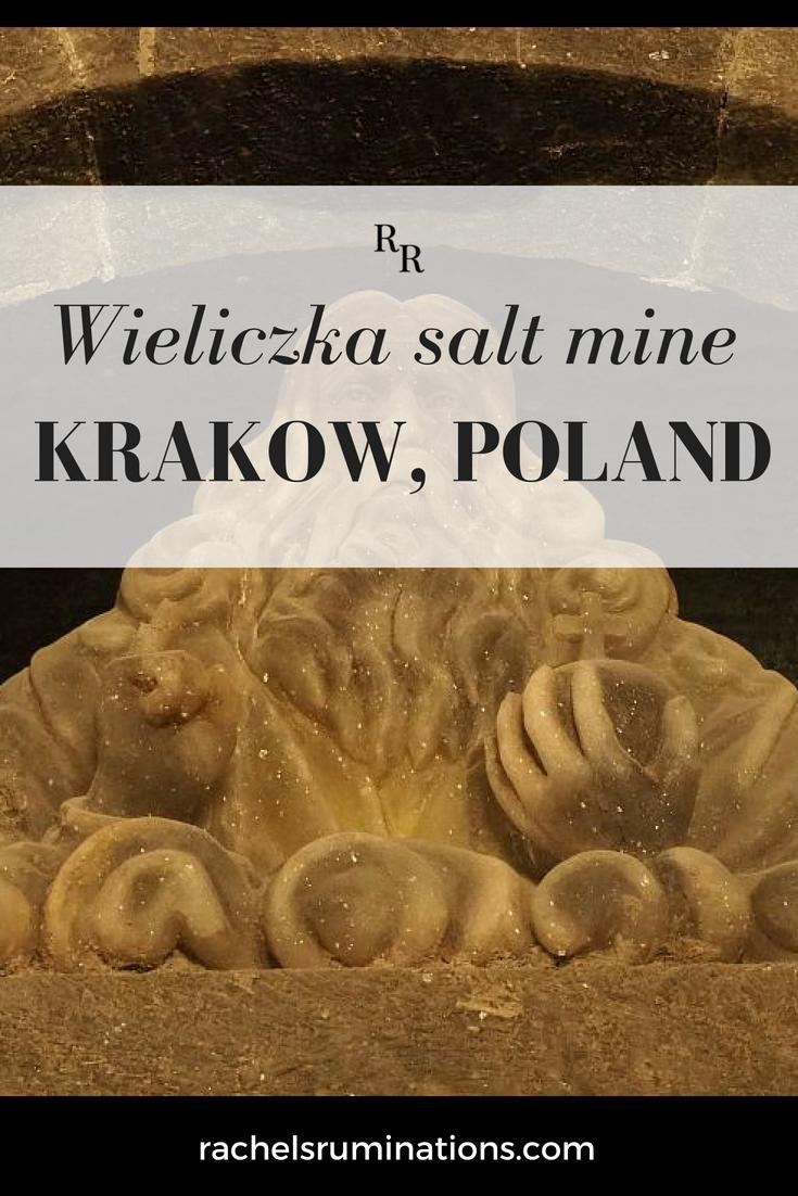 Wieliczka salt mine pinnable image