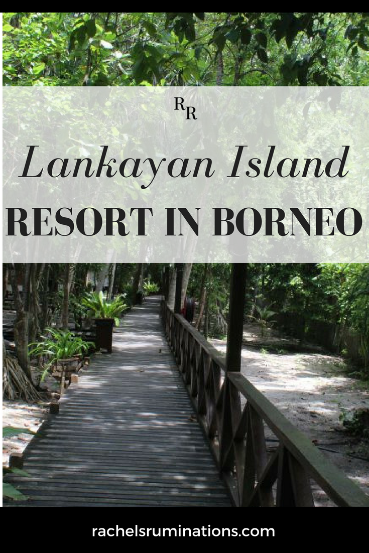Lankayan Island Resort in Borneo: pinnable image