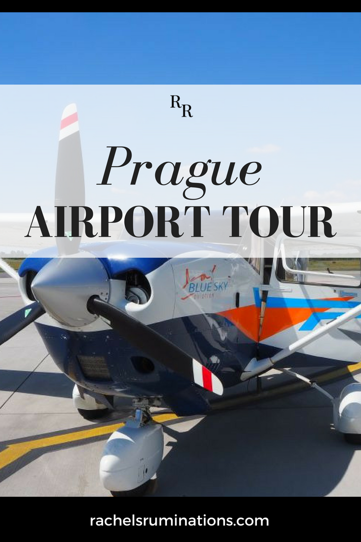 """Despite my fear of flying, I jumped at the chance to take a Prague Airport tour, including a flight in a small airplane. """"Face your fear"""" and all that. Read all about it here! #flyfromPRG #pragueairport #prague #fearofflying #c2cgroup via @rachelsruminations"""