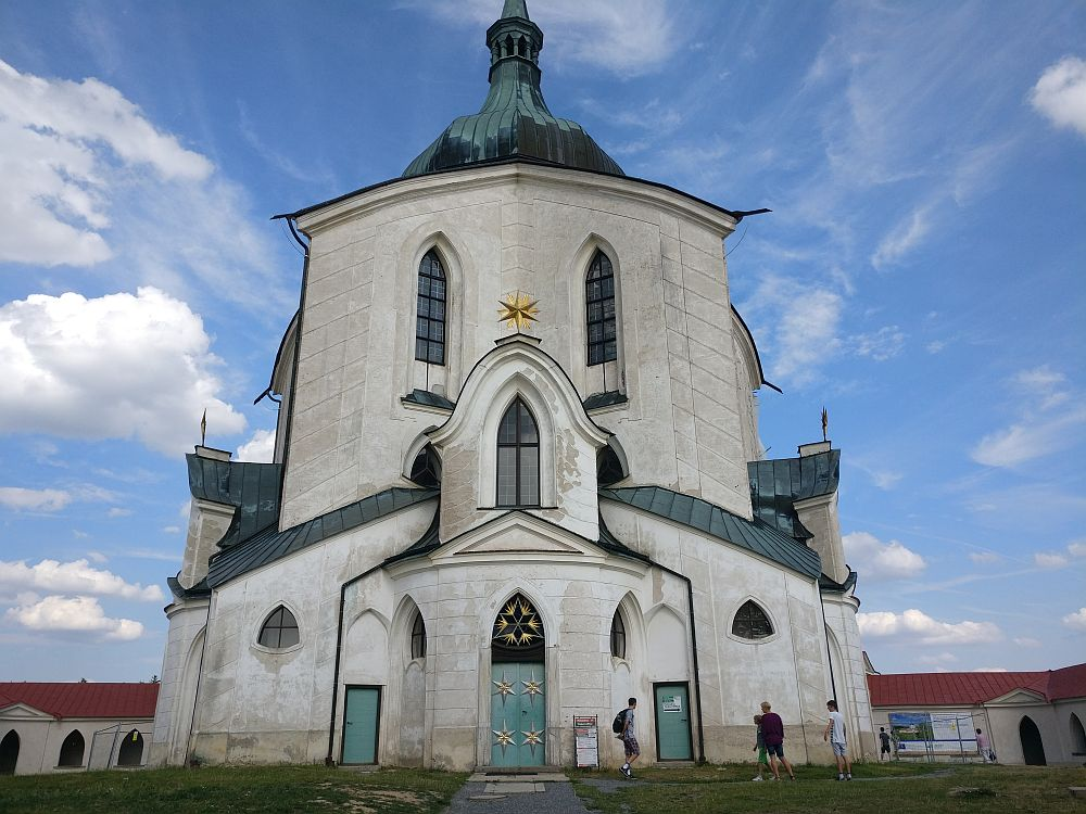 The Pilgrimage Church of St. John of Nepomuk, one of the UNESCO-listed sites in the Czech Republic