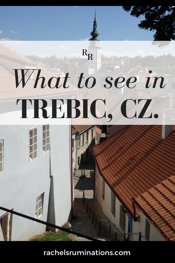 Trebic UNESCO site comprises three sites: the old Jewish Quarter, the Jewish cemetery, and a Basilica. Read about what to see in Trebic here. #trebic #visitcz #unesco