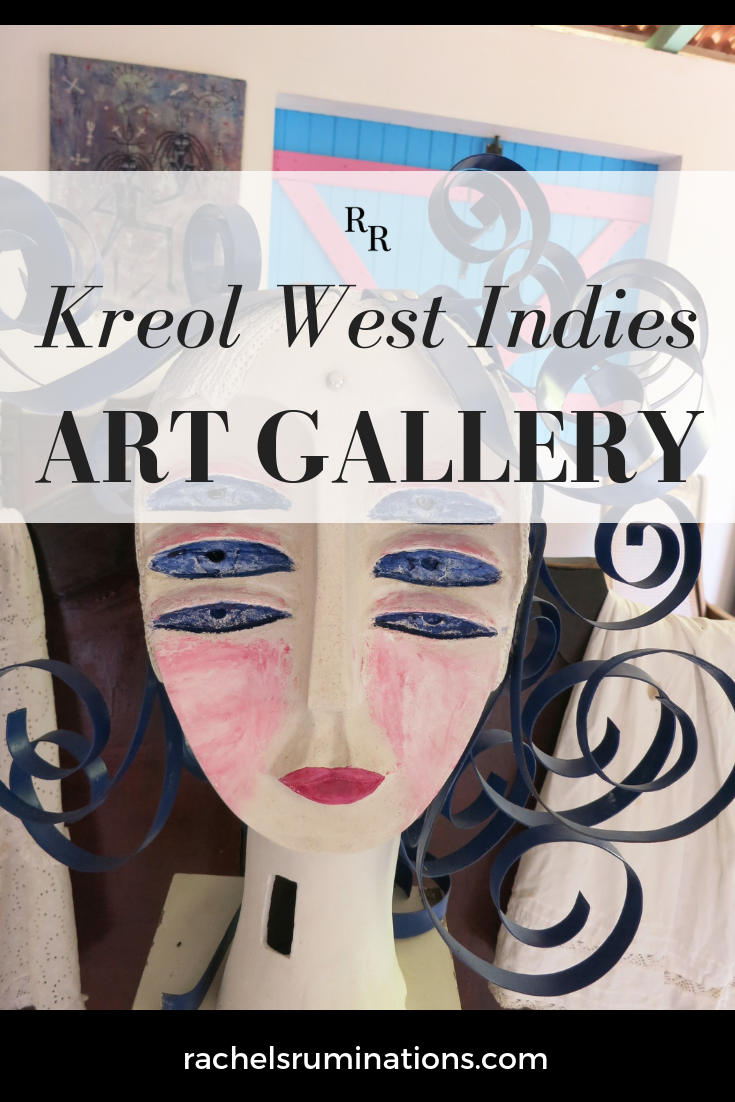 The Kreol West Indies operates on a unique concept: display works by top Caribbean artists and, at the same time, show local historical objects.  #kreolwestindies #guadeloupe #caribbean #caribbeanhistory #caribbeanart #c2cgroup via @rachelsruminations