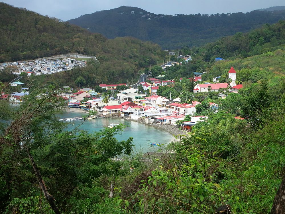 "If you watch ""Death in Paradise,"" you'll recognize this view of Deshaies."