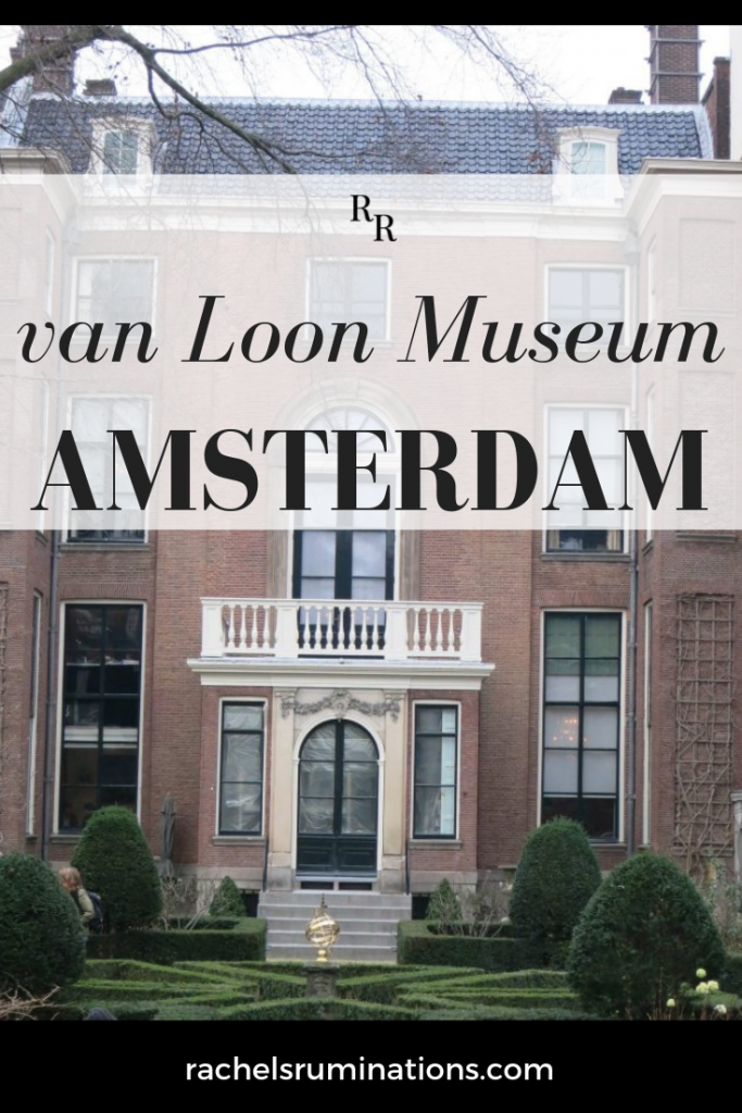 The van Loon Museum's rooms give an impression of how wealthy residents of Amsterdam's Golden Age lived and, to a lesser extent, how their servants lived. #vanloon #amsterdam
