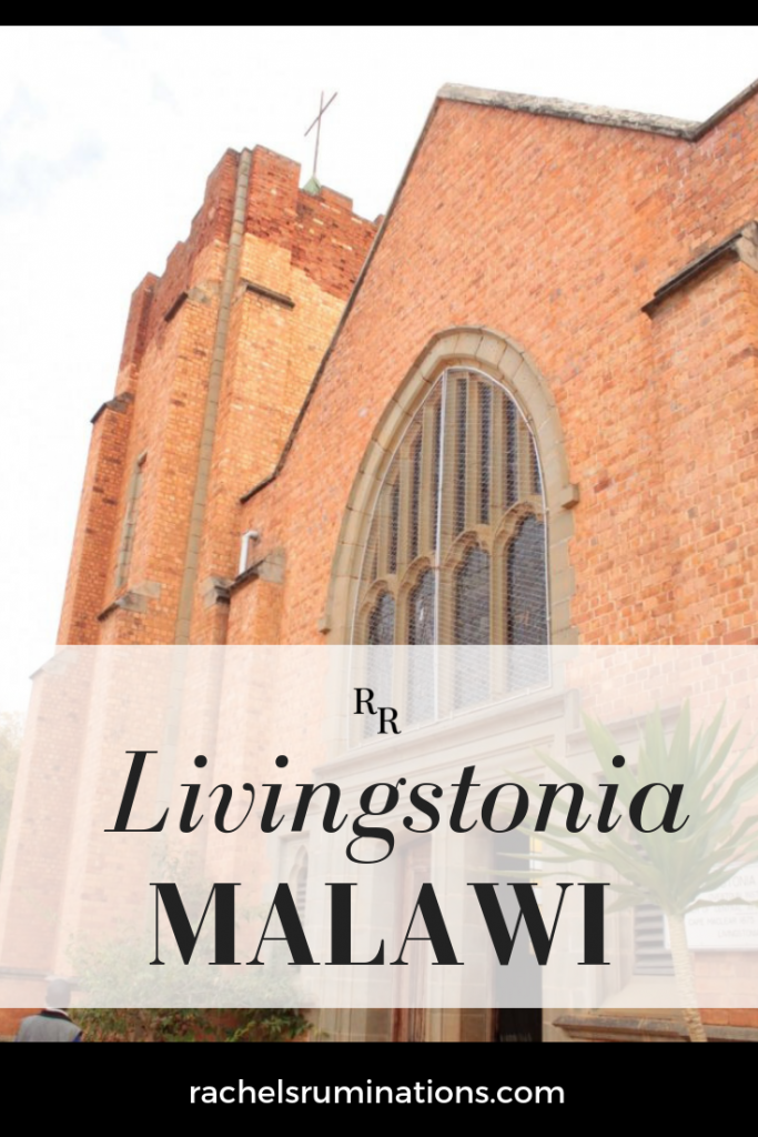 pinnable image showing the front of the Livingstonia church