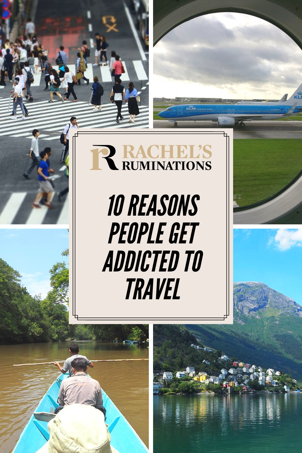 In a guest post, Danny Newman explains the 10 reasons people get addicted to travel. #travel #wanderlust Are you addicted? via @rachelsruminations