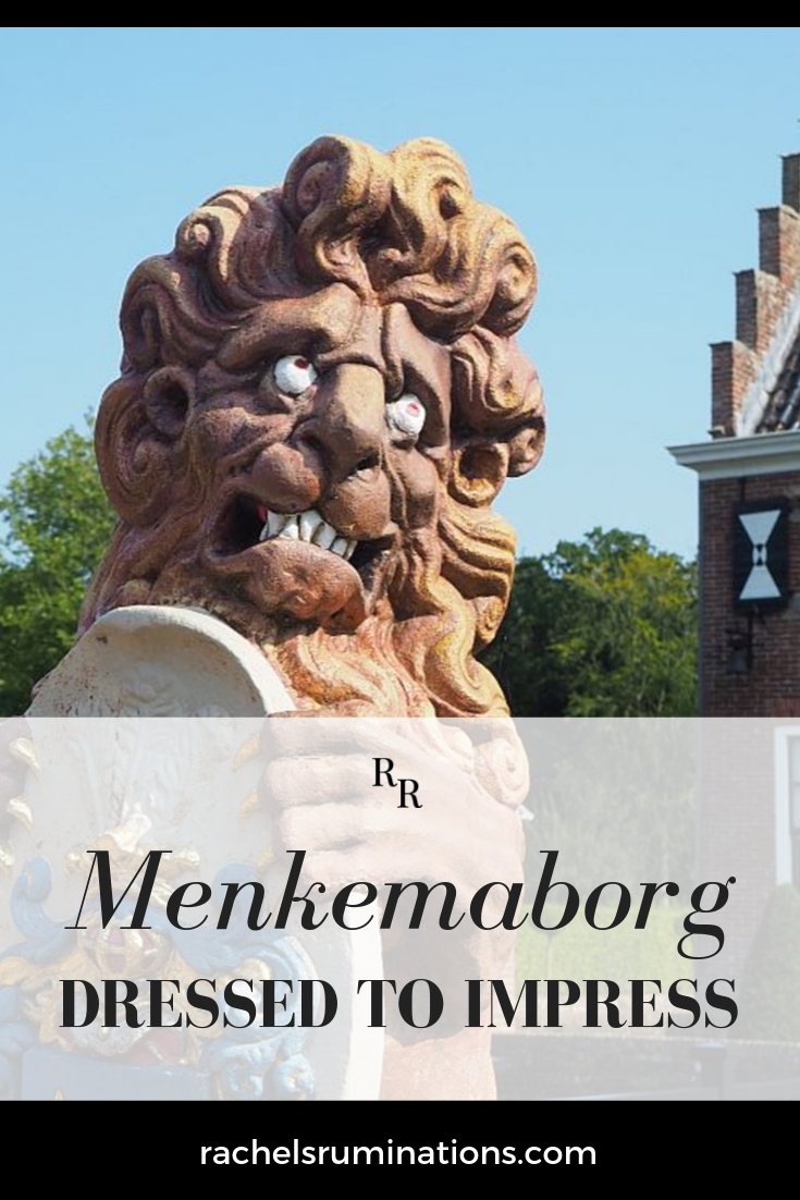 Menkemaborg in Uithuizen, near Groningen, is a stately home furnished in 18th-century style with formal baroque gardens. It was meant to impress, and it does! #menkemaborg #uithuizen #groningen #visitgroningen #visitholland #statelyhome #manorhouse #ergaatnietsbovengroningen #themidlifeperspective #rachelsruminations via @rachelsruminations