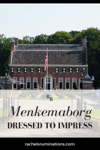 PInnable image Text: Menkemaborg: Dressed to Impress Image: front view of Menkemaborg
