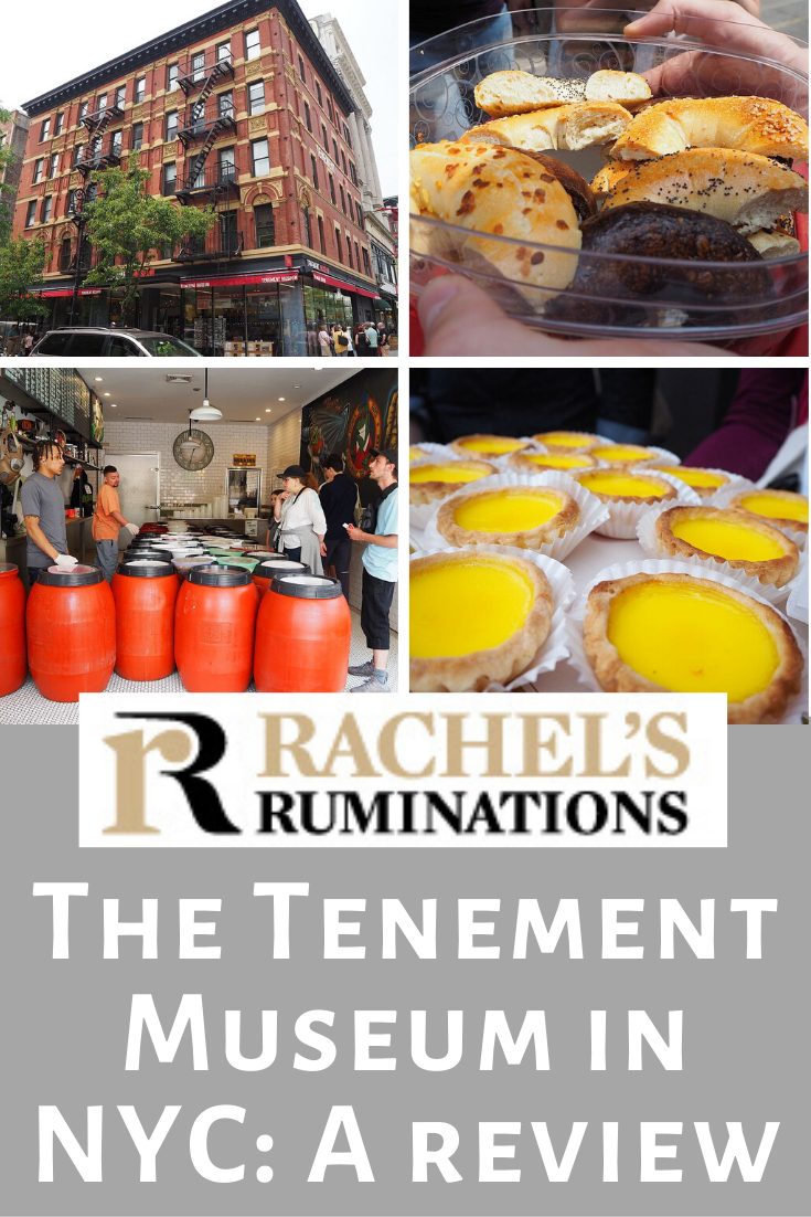 A review of two Tenement Museum tours in New York City's Lower East Side. One was excellent, but the second? Not so much. With updated museum information. #tenementmuseum #immigrationhistory #newyorkhistory #lowereastside #assimilation #foodietour #rachelsruminations via @rachelsruminations