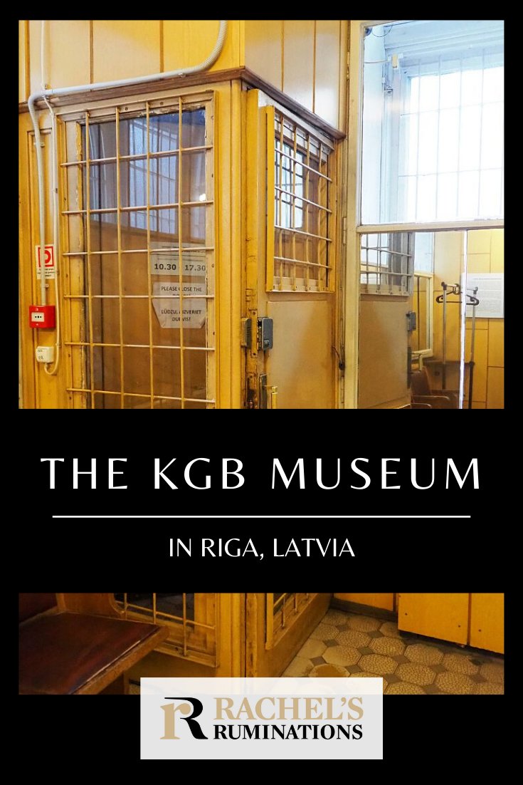 "The KGB Museum, Riga, shows what the KGB did at ""The Corner House"": imprison people for months, interrogate and torture them, then either execute them on the spot or send them to labor camps in Siberia. #riga #latvia #kgb #coldwar #rachelsruminations via @rachelsruminations"