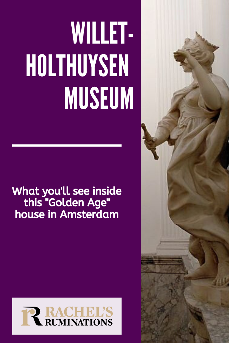 In Amsterdam, you'll admire the beautiful canals, lined with elegant Golden Age houses. But have you ever wanted to see the insides? Read here about visiting the Willet-Holthuysen Museum! #amsterdam #holland via @rachelsruminations