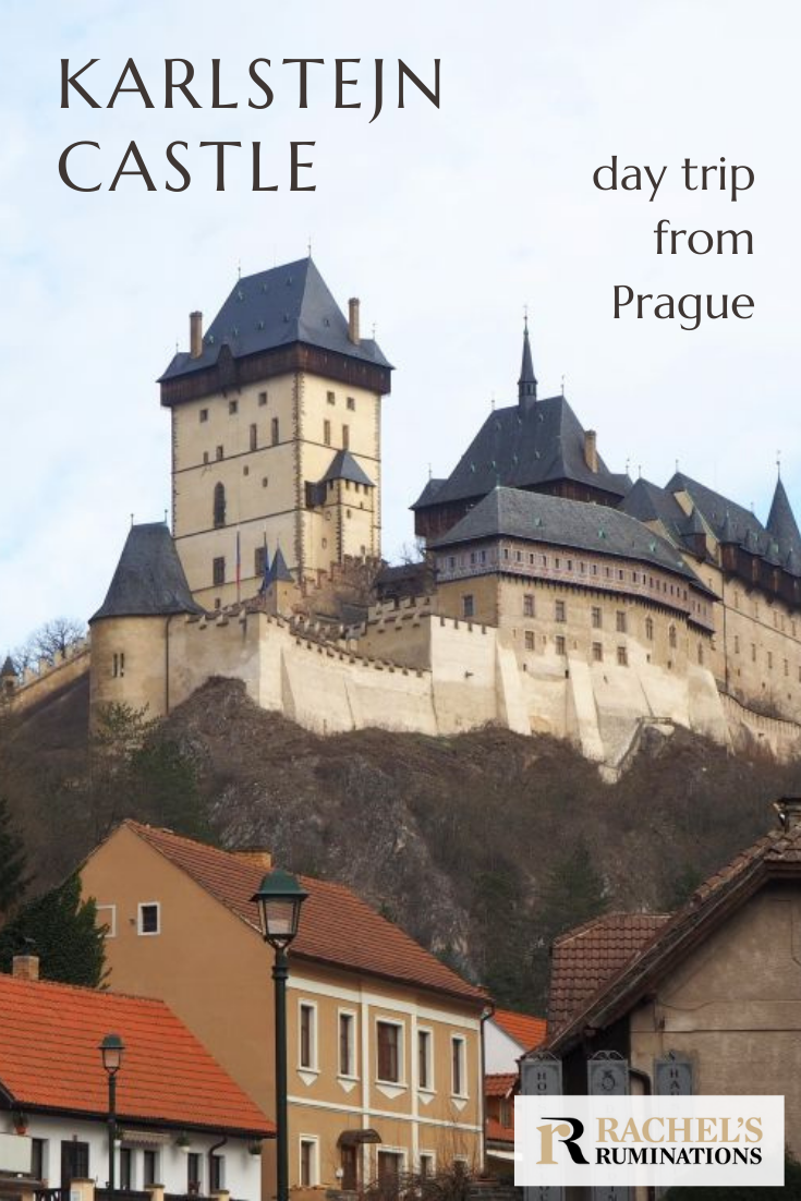 Visiting Karlstejn Castle from Prague is quite possible in a day trip. Just make sure to do your research ahead of time, unlike me. This article will help. #karlstejn #karlstejncastle #czechia #czechrepublic #castles @czechrepublic via @rachelsruminations